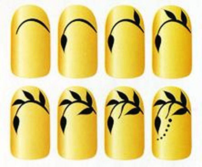 Учимся рисовать на ногтях в домашних условиях