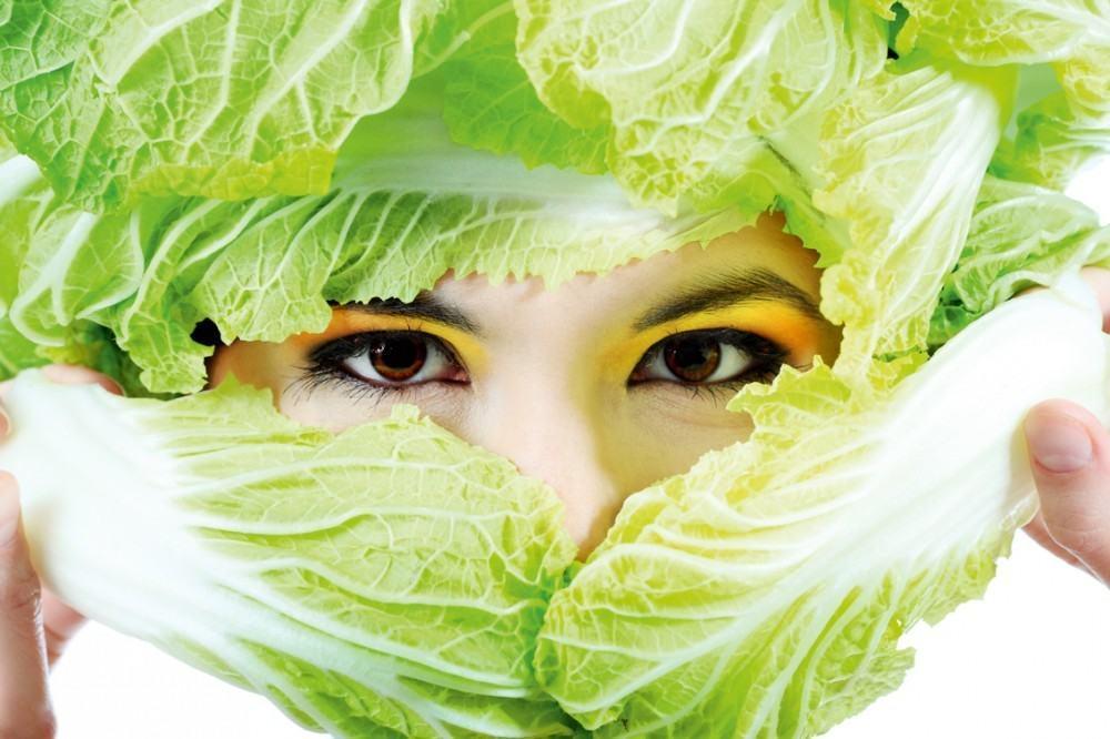 Отбеливающая маска для лица из капусты