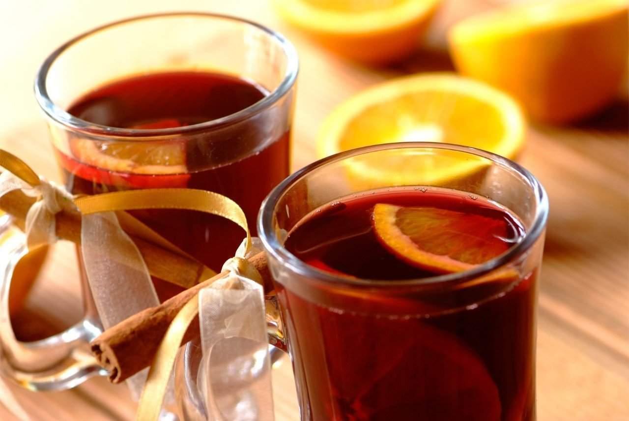 Глинтвейн апельсиновый - рецепт приготовления