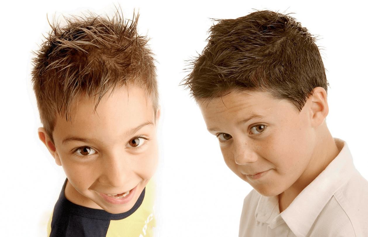 Прическа, укладка волос для мальчика