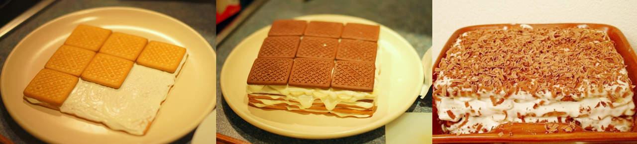 Фото: торт без выпечки