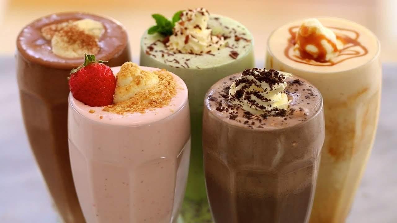 олочный коктейль с мороженым в домашних условиях. Рецепты приготовления
