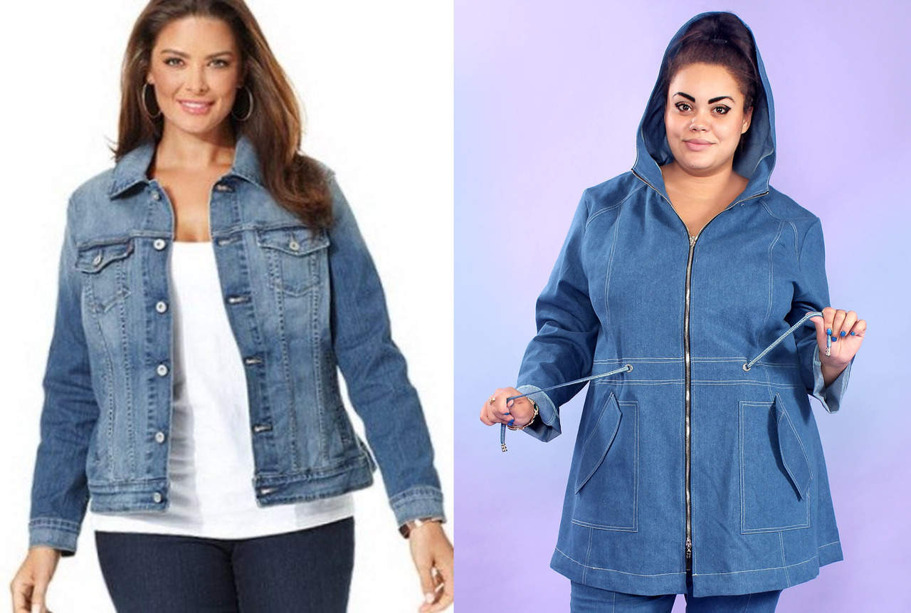 Джинсовая куртка для девушек