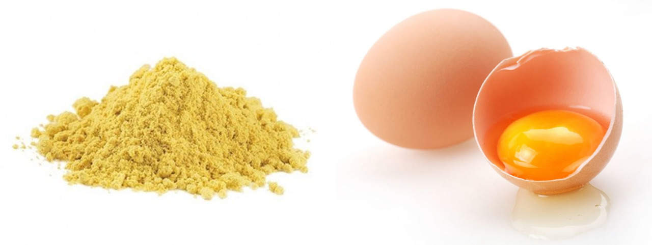 Маска от выпадения волос с яйцом и горчицей