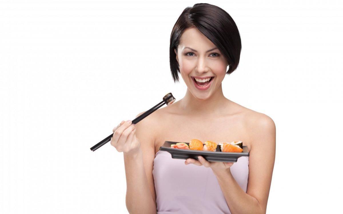 Японская диета до и после