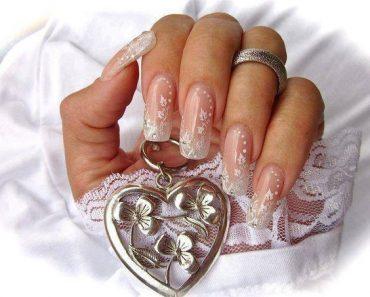 Свадебный маникюр невесты - модные тенденции на короткие и длинные ногти, фото