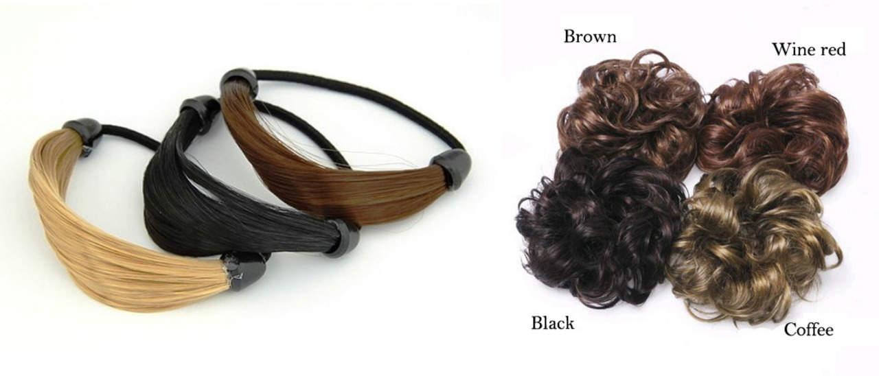 Резинка для волос-шиньон