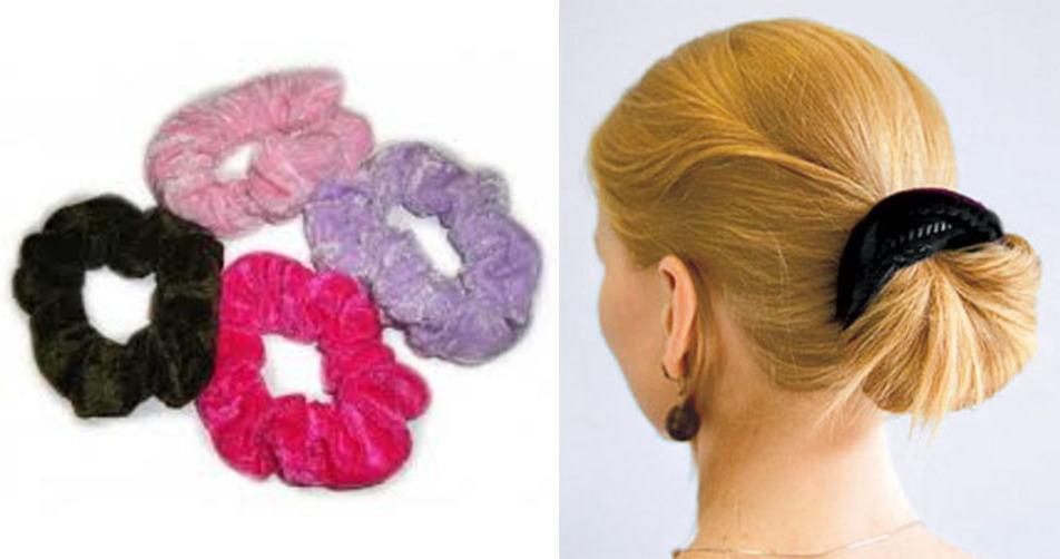 Резинки для волос бархатные