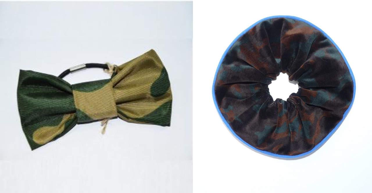 Камуфляжная резинка для волос