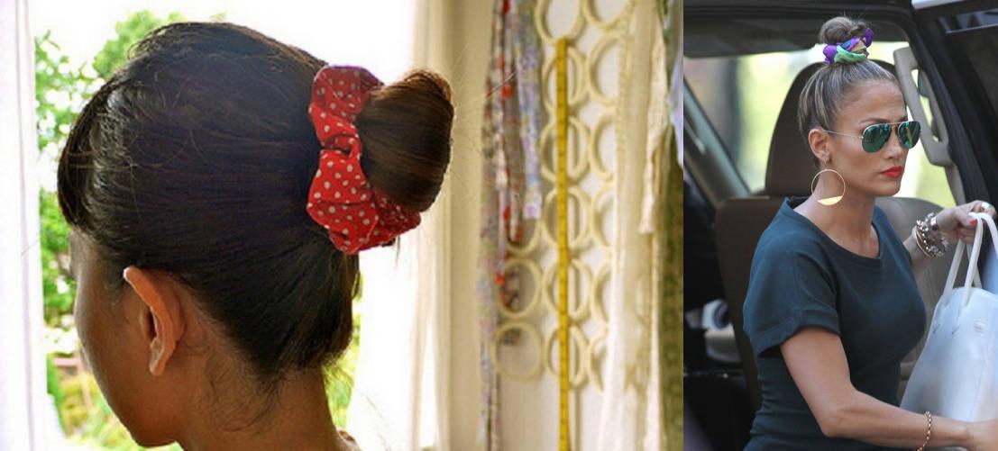 Объемная резинка для волос