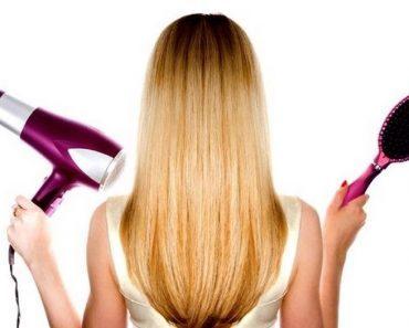 Как правильно и быстро сушить волосы феном и без фена после мытья