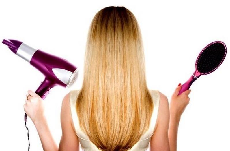 Фен для укладки тонких волос