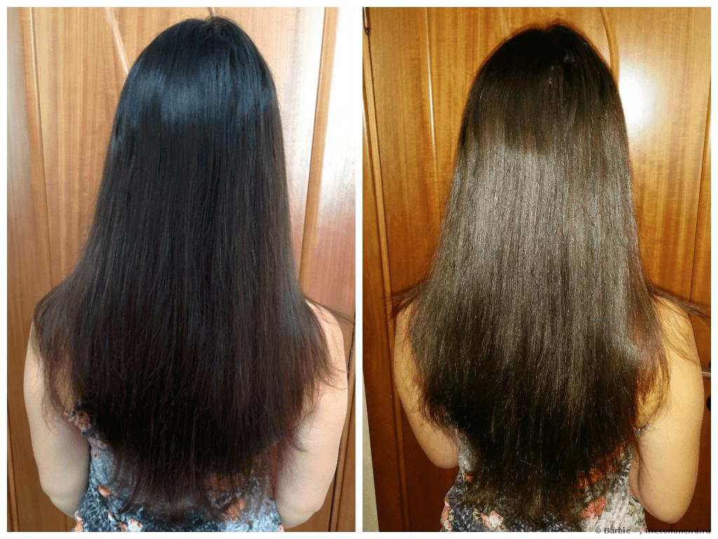 Результат смывки краски -до и после