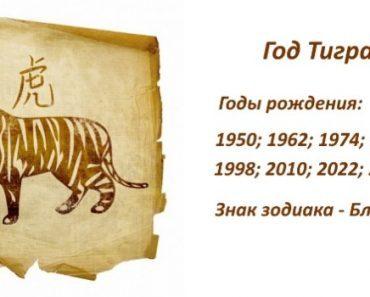 Знак Тигр - характеристика человека (мужчины и женщины), рожденных в год Тигра. Восточный гороскоп