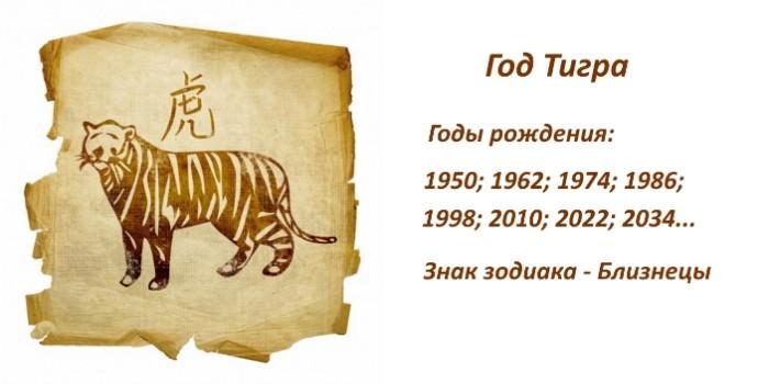 Год Тигра по китайскому гороскопу — характеристика мужчин и женщин, рожденных в год Тигра. Совместимость Тигра с другими знаками восточного зодиака