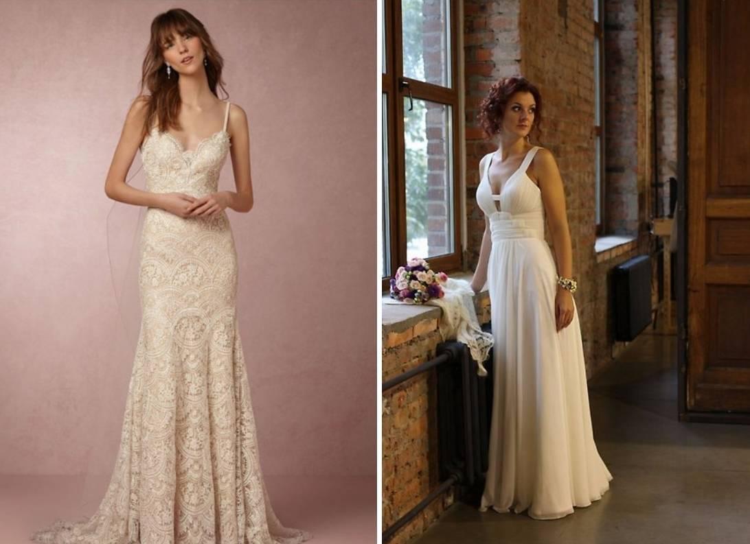 Свадебное платье айвори. Цвета свадебных платьев
