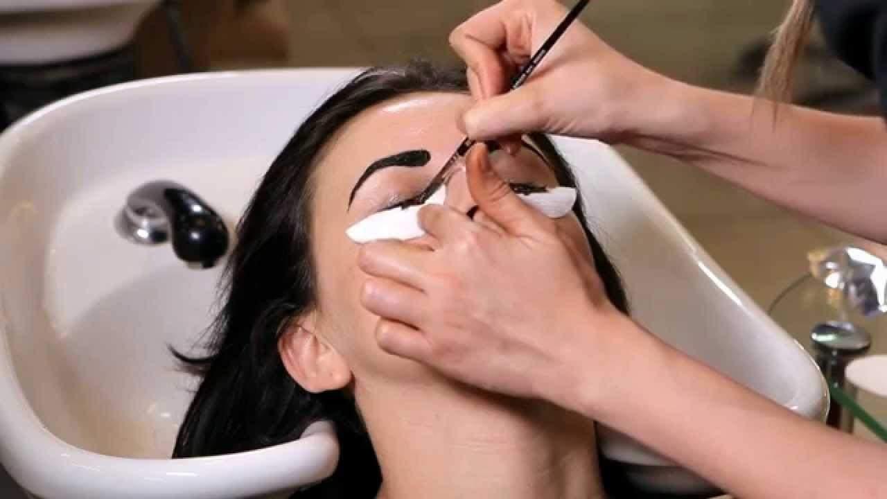 Окрашивание ресниц - суть процедуры в салоне