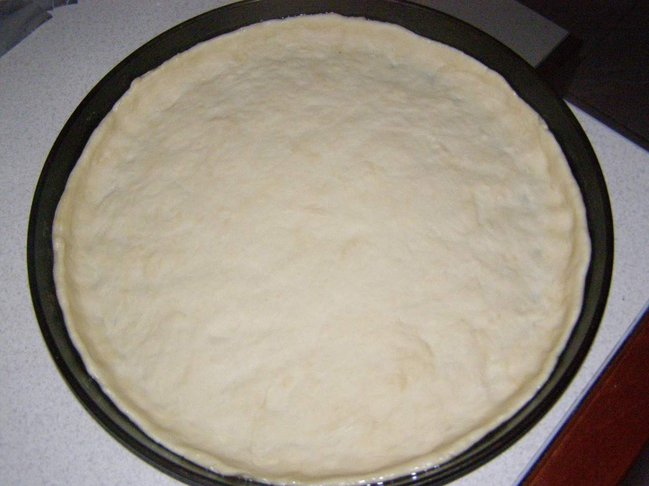 Тесто для пиццы без дрожжей на кефире рецепт с фото пошагово в духовке