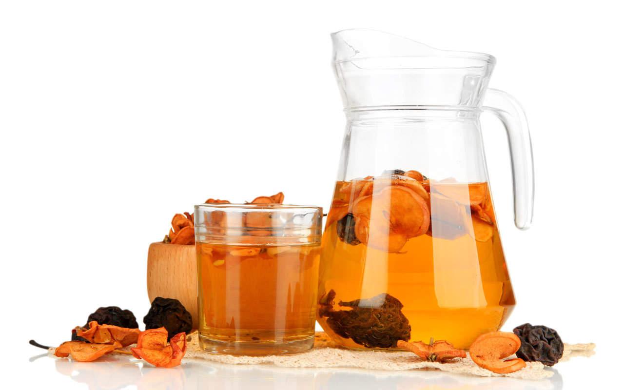 Как варить компот из фруктов рецепт