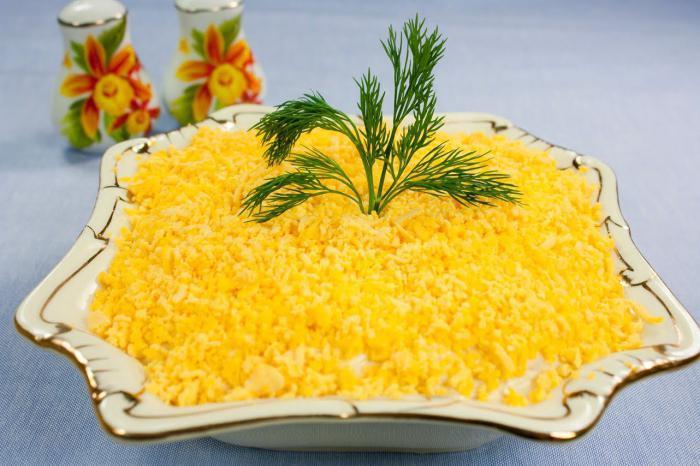 салат мимоза пошаговый рецепт с фото видео