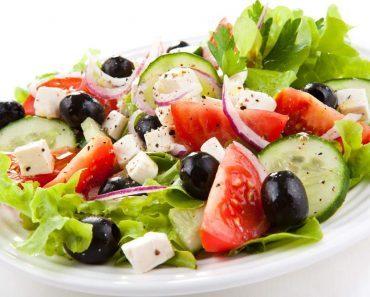 Греческий салат классический в домашних условиях - пошаговый рецепт, фото, видео