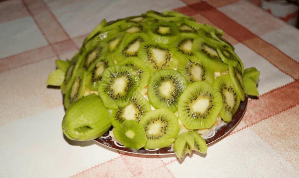Торт изумрудная черепаха в домашних условиях - рецепт