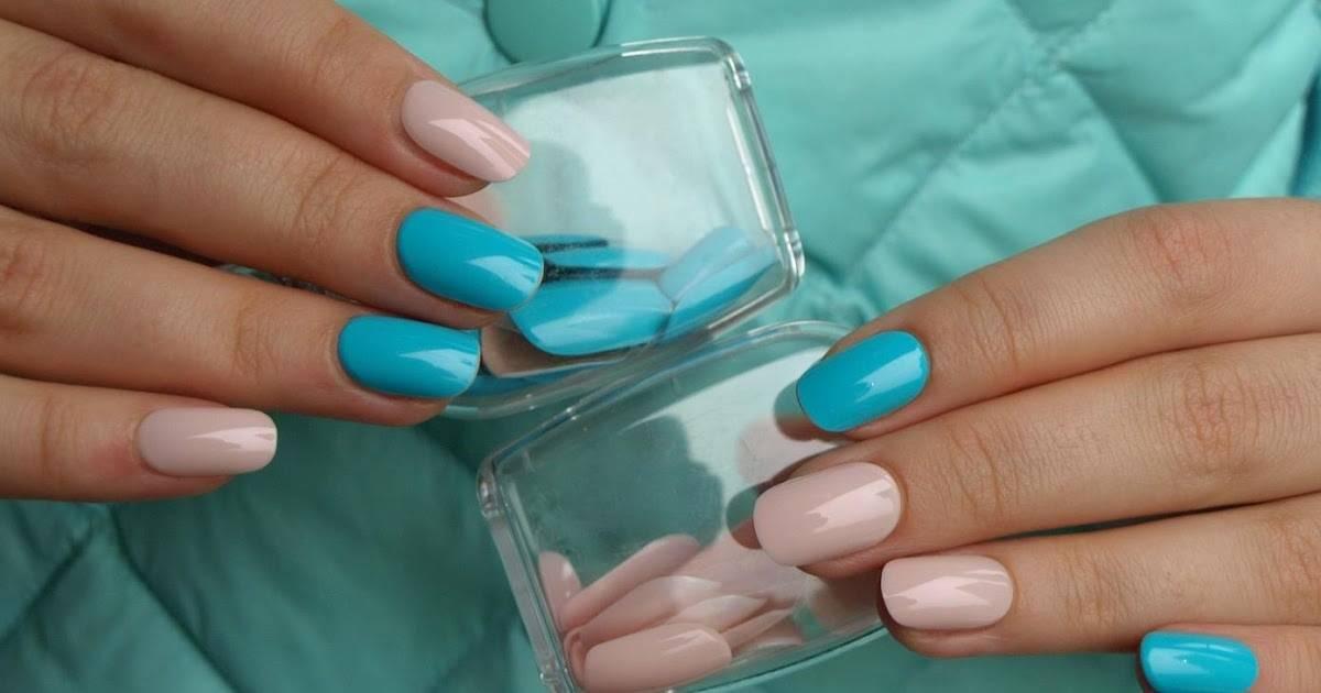 Накладные ногти, как их клеить