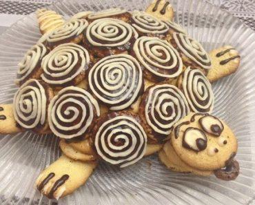 """Торт """"Черепаха"""" в домашних условиях. Рецепт пошагово, фото, видео. Изумрудная черепаха, со сметаной и сгущенкой"""