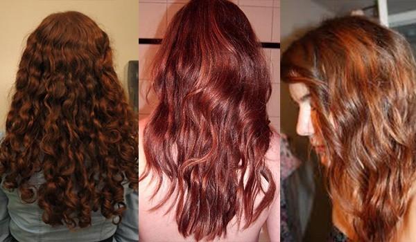 Хна для волос - эффект окрашивания