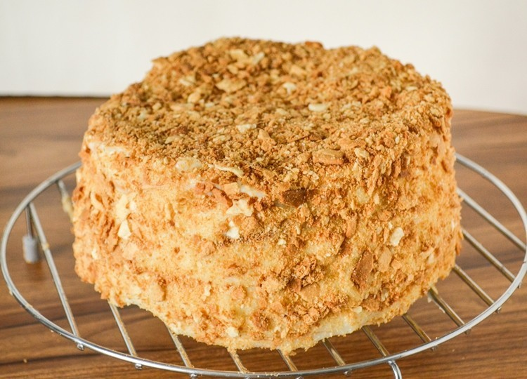 Рецепт торта наполеон в домашних условиях