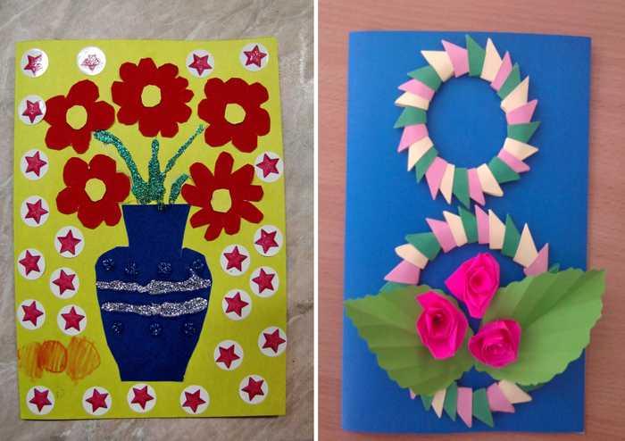 Картинки про, открытки своими руками 8 марта видео