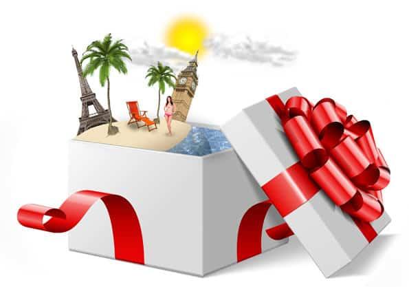Поздравление с подарком деньги для путешествия