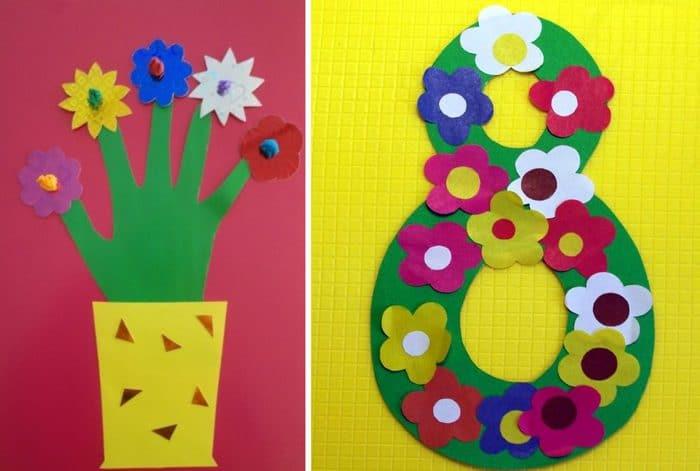 Аппликации для детского сада своими руками