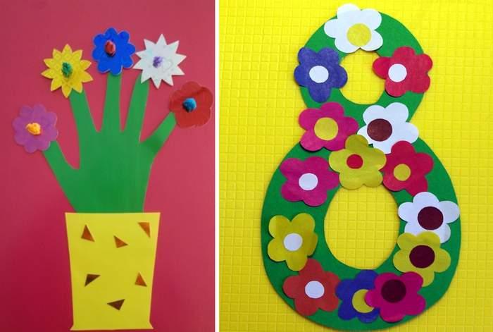 Подарок маме на 8 марта своими руками из детского сада