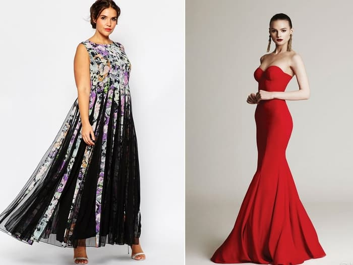 Платье годе для полных девушек
