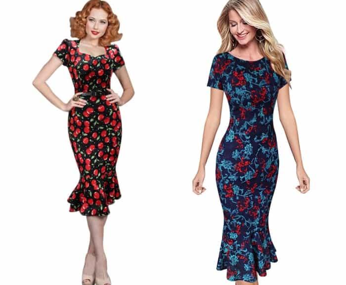 Платье годе летнее короткое