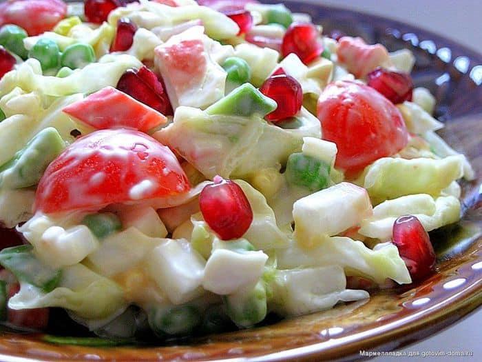 постные салаты на праздничный стол рецепты простые