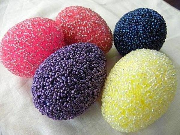 Подарок на Пасху - декоративное яйцо