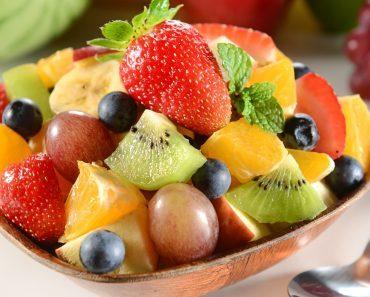 Фруктовый салат пошагово: рецепт, фото и видео. Простой салат из фруктов с йогуртом для детей