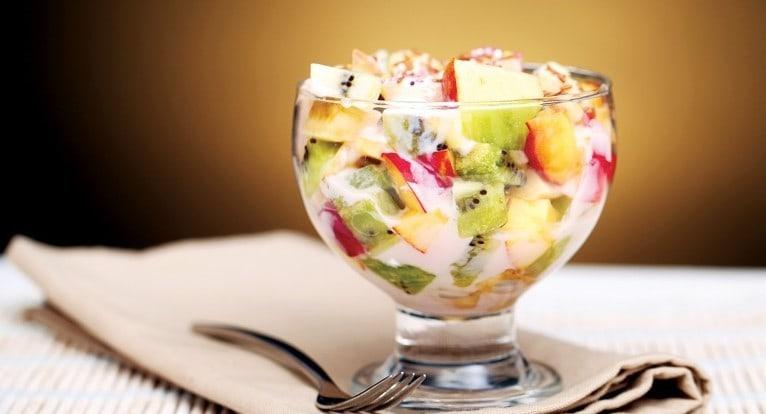 Фруктовый салат классический