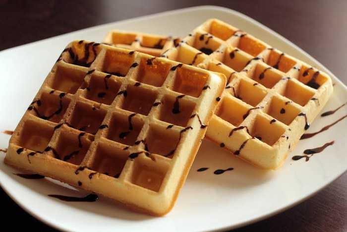 рецепт мягкие вкусные вафли на электровафельнице