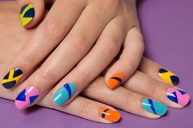 Весенний маникюр - форма ногтей