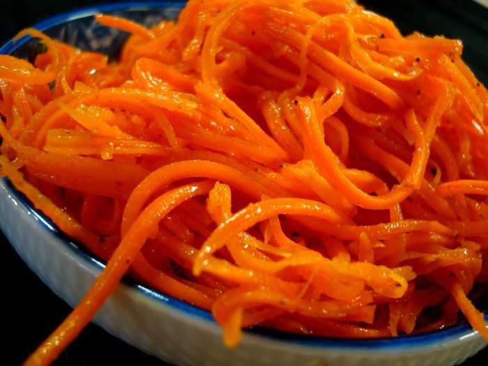 салат с корейской морковью в домашних условиях рецепты