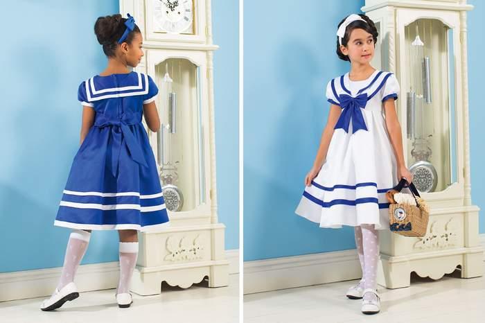 9b11a80a16c Платье для девочки в морском стиле Платье для девочки в морском стиле. Морское  платье