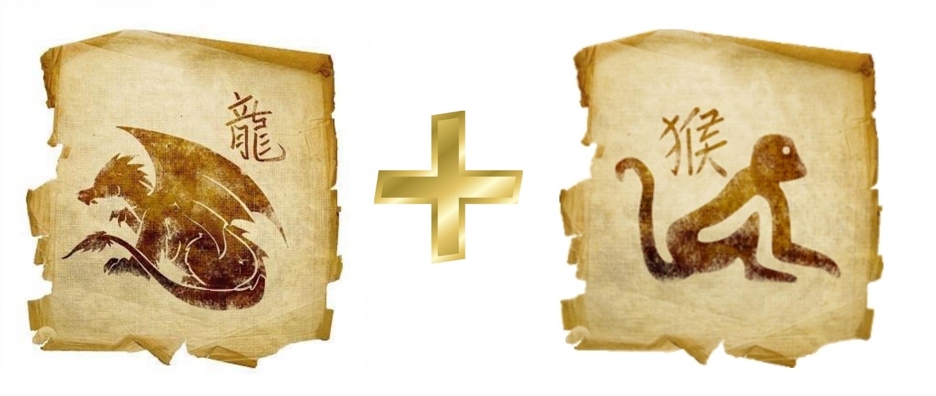 Дракон и Обезьяна: гороскоп совместимости в любви
