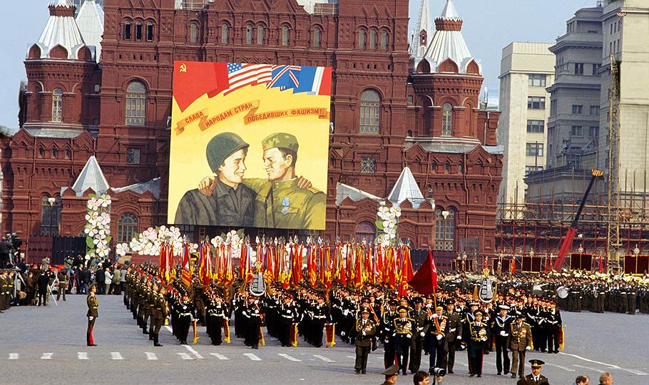Парад в честь Дня победы 9 мая в ссср