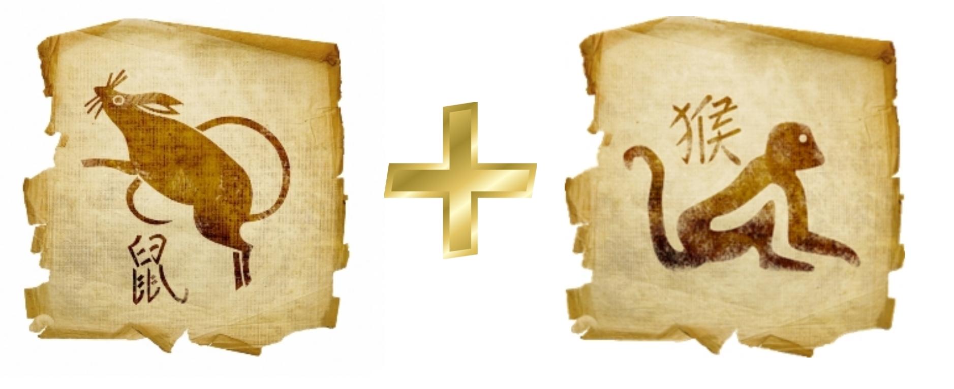 Крыса и Обезьяна: Гороскоп любовной совместимости по знакам