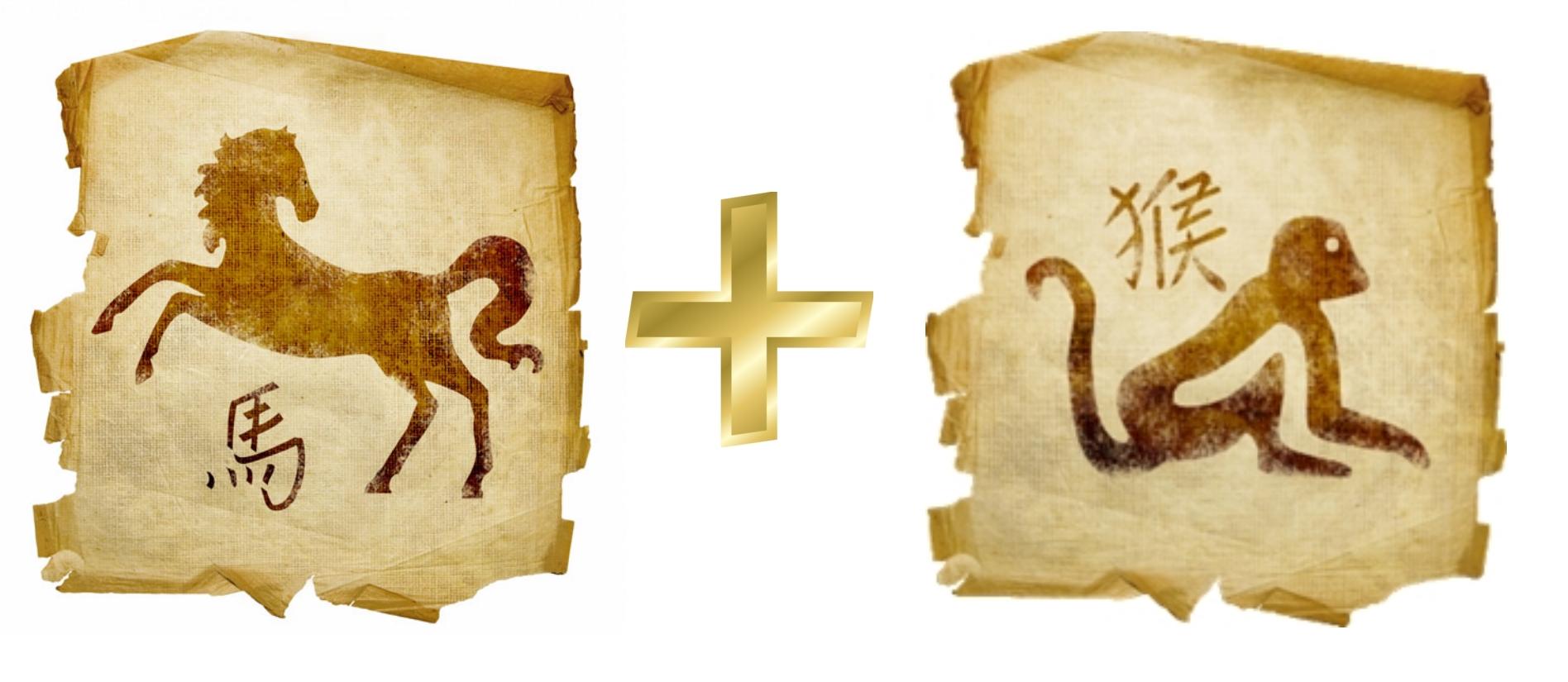 лошадь и обезьяна совместимость гороскопов