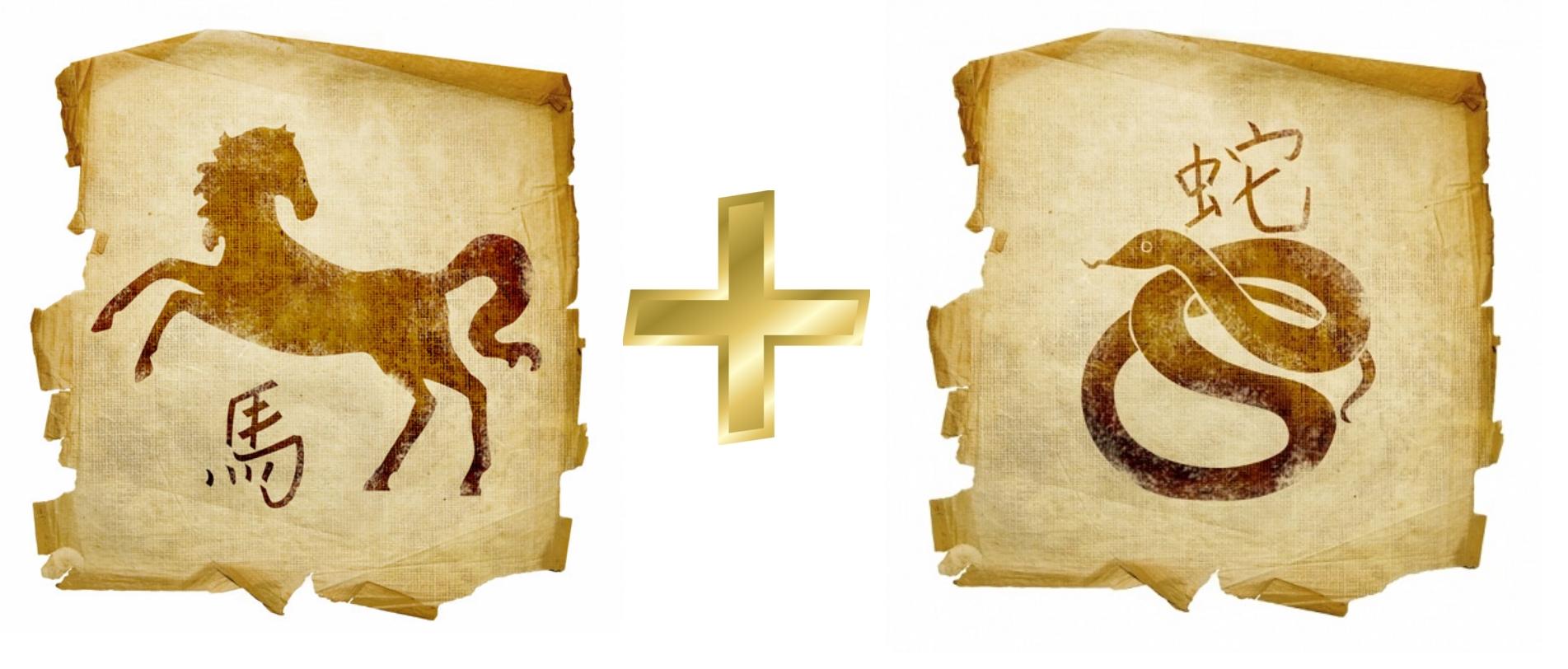 Лошадь и Змея: гороскоп совместимости в любви