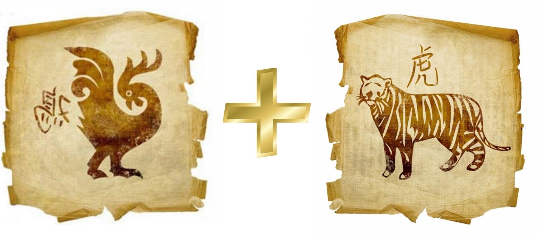 Петух и тигр: Гороскоп любовной совместимости по знакам